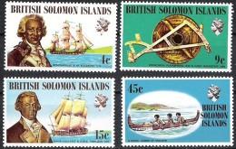 Salomon Solomon Islands 1972 Yvertn° 209-12 *** MNH Cote 8,50 Euro Bateaux Schepen Ships - Salomon (Iles 1978-...)