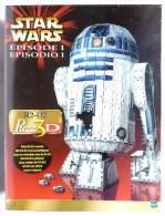BOITE FIGURINE STAR WARS LA GUERRE DES ETOILES - PUZZLE EN 3D R2 D2 - Episode I