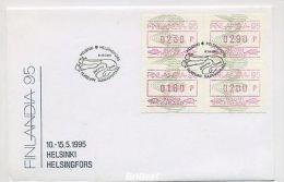 FINNLAND 1993 ATM Nr 18 S2 Auf FDC (79591) - Non Classés