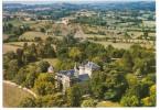 Trept (38) Vue Aerienne Du Chateau De Serrieres Et De Ses Environs - Otros Municipios