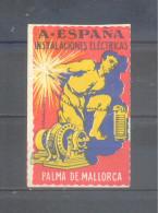 PALMA DE MALLORCA. A·ESPAÑA INSTALACIONES ELÉCTRICAS. * S/V. - España