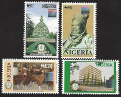 Nigeria 2012 Bello University Senate Sokoto Ruler Poeltry Hologram MHN Mint Set - Nigeria (1961-...)