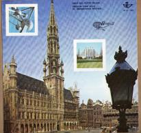 Feuillet FDC Belgica 72 1627 à 1635 Avec Bord De Feuille - 2 Scans - FDC