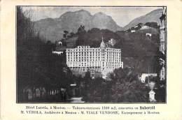 06 - MENTON : Hotel LUTETIA - CPA - - Menton
