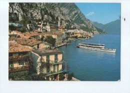 P3636 LIMONE SUL GARDA ( Prov. Di Brescia, BS ) PIROSCAFO - NAVI SHIP BATEAU - VIAGGIATA 1981 - Italia