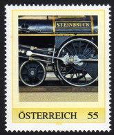 ÖSTERREICH 2009 ** Eisenbahn, Train / Steinbrück, John Haswell Wien 1848 - PM Personalized Stamp MNH - Private Stamps