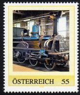 ÖSTERREICH 2009 ** Kronprinz Rudolph Bahn  KkstB 1.20 Schnittlok Um 1883 - PM Personalized Stamp MNH - Private Stamps