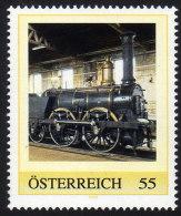 ÖSTERREICH 2009 ** Eisenbahn, Train / Ajax Jones, Turner & Evans England 1841 - PM Personalized Stamp MNH - Private Stamps