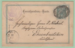EU3. Entier Postal  Insbruck 20.3.00  + Secretariatus Capucinorum Procinc. Tirol Sept. - Interi Postali