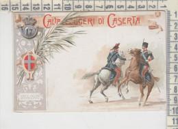 Militari  REGGIMENTALI -CAVALLEGGERI DI CASERTA - Regiments