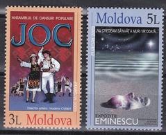 U_ Moldawien Moldau - Mi.Nr. 463 - 464 Markenheftchen MH 4 - Postfrisch MNH - Europa CEPT Europe - Moldova