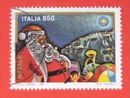 ITALIA USATI 1996 - NATALE 1996 - SASSONE 2253 - RIF. G 2201 LUSSO - 6. 1946-.. Repubblica
