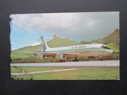 AK / Echtfoto Flugzeug Air New Zealand. DC 8. Schöne Karte - 1946-....: Moderne
