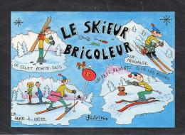LE SKIEUR BRICOLEUR (d'après Un Dessin De Patrick Legrand) - Illustrateurs & Photographes