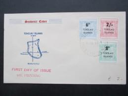 Tokelau Islands 1966 Souvenir Sheet. FDC. Satzbrief. Nukunonu. 1st. Printing. Interessanter Beleg - Tokelau