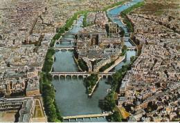 CP NEUVE - PARIS - ILE DE LA CITE ET CATHEDRALE NOTRE DAME N° 5514 - Frankreich