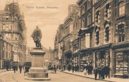 CPA ROYAUME UNI Swansea Castle Square - Pays De Galles