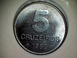 Brésil 5 Cruzeiros 1980 - Brésil