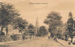 CPA ROYAUME UNI Swansea Walter's Road - Pays De Galles