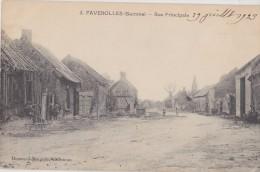 FAVEROLLES Rue Principale - Francia
