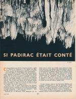 1963 : Document, PADIRAC (6 Pages Illustrées) Gouffre, Grotte, Lac De La Pluie, Quai Aux Fleurs, Lac Des Grands Gours - Old Paper