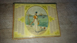 Almanach Des Postes Télégraphes  1925 Calendrier Indre Et Loire 37 Marine - Calendars