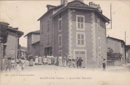 CPA - BARRAUX : Quartier Central - Barraux