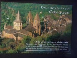 CP - CONQUES EN ROUERGUE - L'abbatiale SAINTE FOY - France
