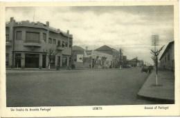 Lobito - Um Trecho Da Avenida Portugal - Angola