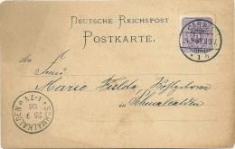 Postkarte CASSEL Nach Schmalkalden - Deutschland