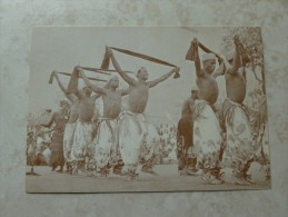 Carte Congo Belge Photo De Danseur - Congo Belge - Autres
