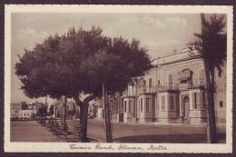 Old Malta Postcard Circa 1930 Tower Road Sliema - Malta