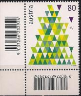 2015 Austria Mi. 3239**MNH  Stilisierter Weihnachtsbaum - 1945-.... 2ème République