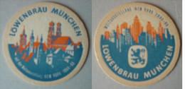 Löwenbräu München Auf Der Weltausstellung New York 1964-65 - Sous-bocks
