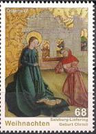 2015 Austria Mi. 3241**MNH   Geburt Christi; Gemälde (um 1465) Aus Der Kirche Von Salzburg-Liefering - 1945-.... 2ème République
