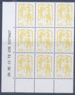 N° 4763 Marianne De Ciappa X9  Coin Daté - 2010-....
