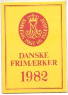 Danimarca - Annata 1982 Nuova Completa In Folder Ufficiale - 21 Valori - Danimarca