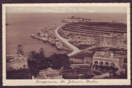 Old Malta Postcard Circa 1930 Dragonara St Julian's - Malte