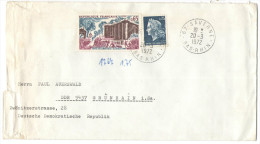FRANCIA - France - 1972 - Prise De La Bastille Histoire De France + 0,25 - Viaggiata Da Saverne Per Grünhain, Germany... - 1961-....