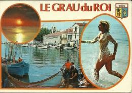 LE GRAU DU ROI . GARD .LE CANAL(NU FEMININ) - Le Grau-du-Roi