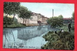 54. Toul. Les Grands Moulins Sur La Moselle. Pêcheur Et Son Chien. 1926 - Toul