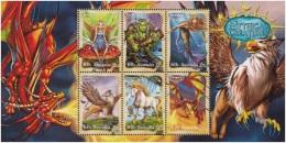 Australia 2011 Sheet Mythical Creatures MNH - 2010-... Elizabeth II