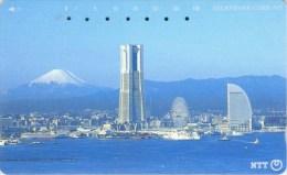 Telefonkarte Japan -  Stadtansicht - Berg -  251-246 - Japan