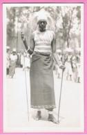 Congo Tutsi Danser In Vol Ornaat Zeer Mooie Detail Kaart - Kinshasa - Léopoldville