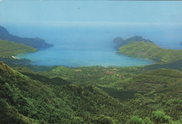 Iles Marquises - Vue D'Oiseau De La Baie De Taiohae Nuku-Hiva - Polinesia Francese