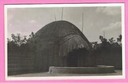 Congo Mooie Fotokaart  Wildpark Typische Hut - Kinshasa - Léopoldville