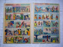 Lot De 2 Illustrés Buffalo Bill En Bon état - Books, Magazines, Comics