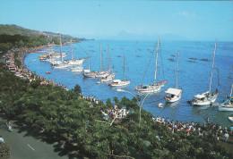 Tahiti - La Plage De Papeete Pendant La Fête Du 14 Juillet - Tahiti