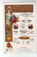CPA Fête Thanksgiving Dindon - Thanksgiving