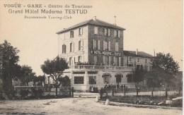 Vogüe - Ardèche - Gare - Centre De Tourisme - Grand Hôtel Moderne Testud Recommandé Touring Club - Autres Communes